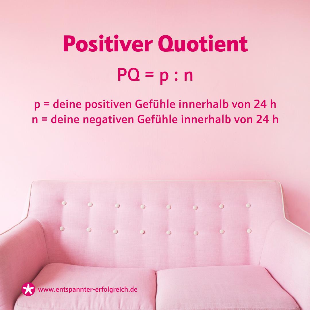 Positiver Quotient PQ = p : n